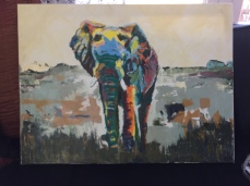 commissioned elephant (sold)